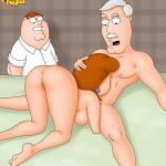 Lois oral porn show - Lois Griffin porn