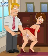 Family Guy presents American Dad sluts - Porn Toons